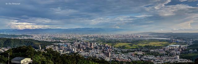 台北市+關渡平原 全景接圖 白天版