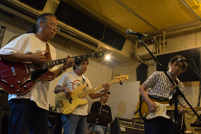 Johnny Winter Tribute Festival 4 - Johnny Handers Show live at Golden Egg, Tokyo, 16 Jul 2017 -7M2-00066