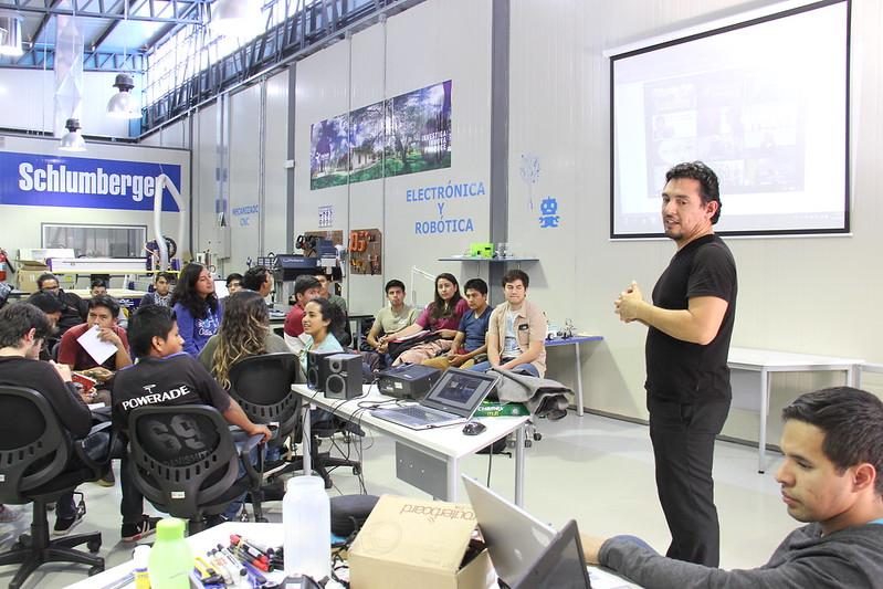 Visita Director Red Latinoamericana de Fab Labs - Yachay