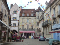 Rue Buffon, Semur-en-Auxois - Porte Sauvigny - Café Le Mont DreJet - Photo of Corrombles