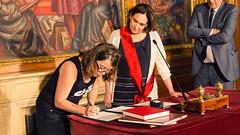 dv., 21/07/2017 - 08:12 - Eulàlia Reguant pren possessió del càrrec de regidora de l'Ajuntament de Barcelona