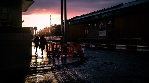 streetphotography urban contrast clouds sunset ireland street woman dublin walking faceless city sky women light countydublin ie onsale