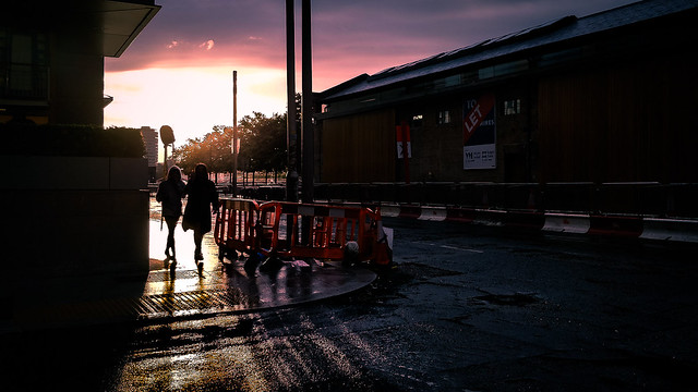 After the rain - Dublin, Ireland - Color street photography