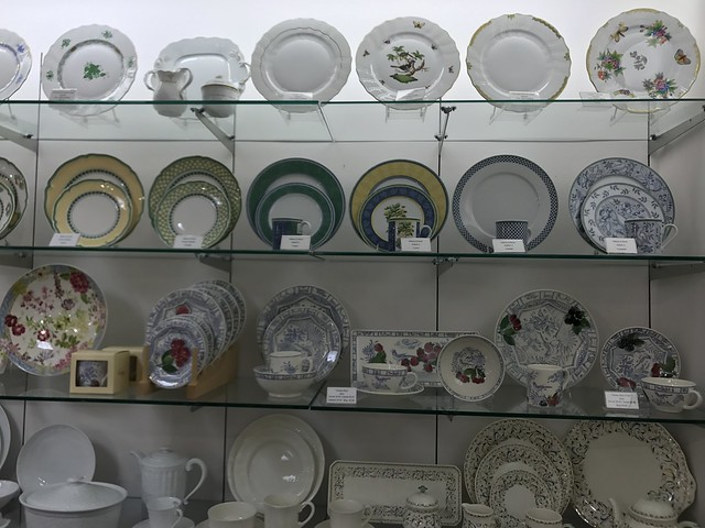 David M. Brian dinner plates