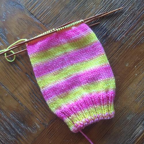 Pink Lemonade sock