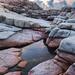 粉紅石水池 Pink rock puddle