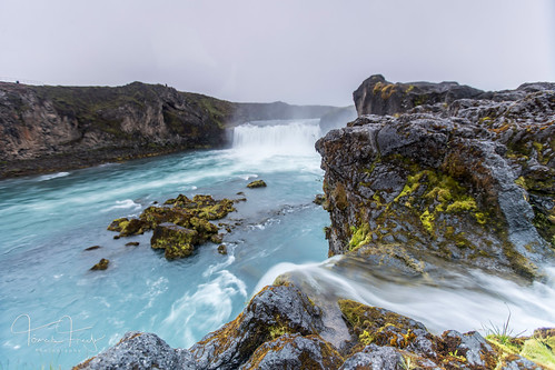 iceland sunset clouds foss landscape landslag river scenic sky skyscape water waterfall wet goðafoss skjálfandafljót fljót ísland godafoss waterfallofthegods vipveryimportantphotos