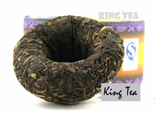 Free Shipping 2008 XiaGuan Silver Tuo 100g*5=500g China YunNan KunMing Chinese Puer Puerh Raw Tea Sheng Cha Slim Beauty Weight Loss