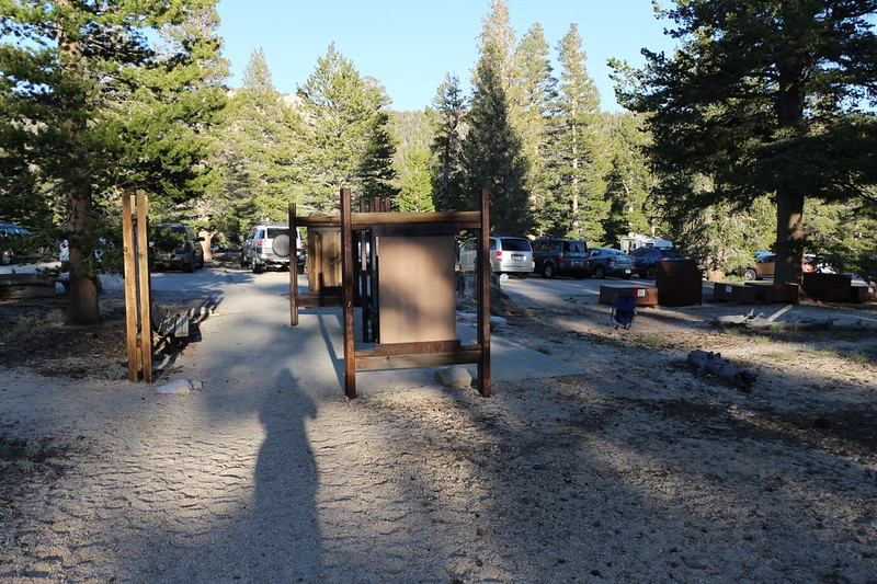 Back at the Cottonwood Pass Trail trailhead and parking lot