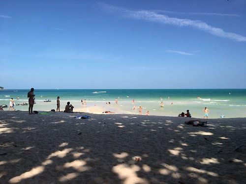 今日のサムイ島 7月23日 チャウエンビーチ!