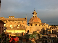 Rome sunset June 2017