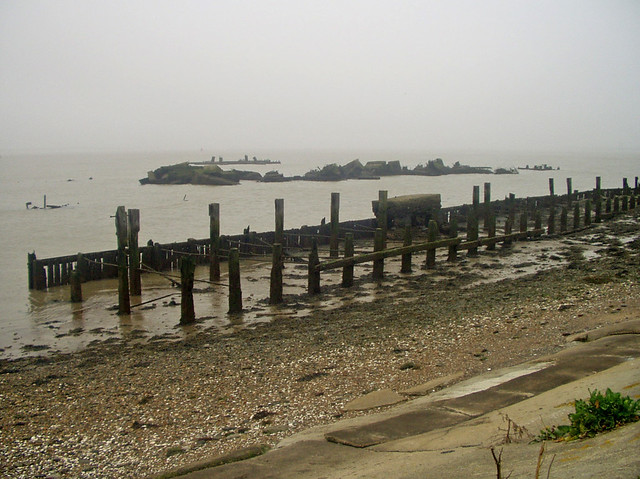Old jetty near Cliffe