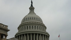 Washington D.C.: The dome of the United States Capitol building - 289 feet / 88 m high, 96 feet / 29 m in diameter