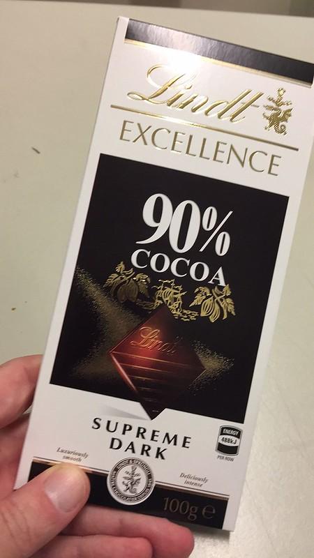 Healthy chocolate...