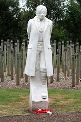 National Arboretum, England - Shot at Dawn Monument - Aim at the Medal
