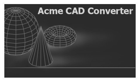 Acme CAD Converter 2017 v8.8.7