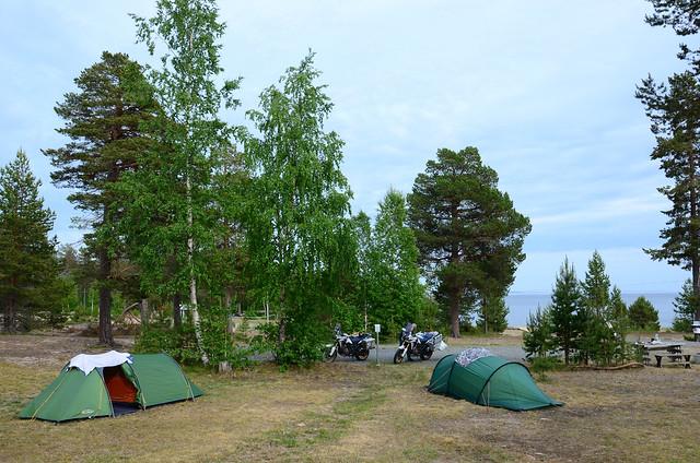 Camping in Seskaro