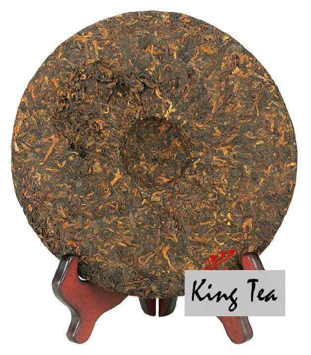 Free Shipping 2014 LaoManEr Meng Hai Tea Leaf Cake 500g China YunNan MengHai Chinese Puer Puerh Ripe Tea Cooked Shou Cha