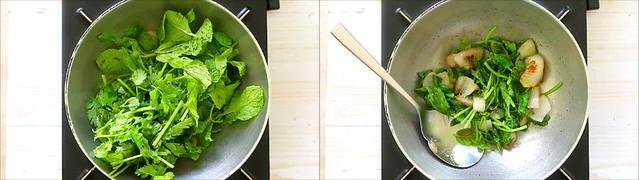 mint coriander chutney 3