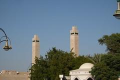 Minarets of Sheikha Salama Mosque