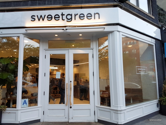 Sweetgreen storefront Greenwich Village