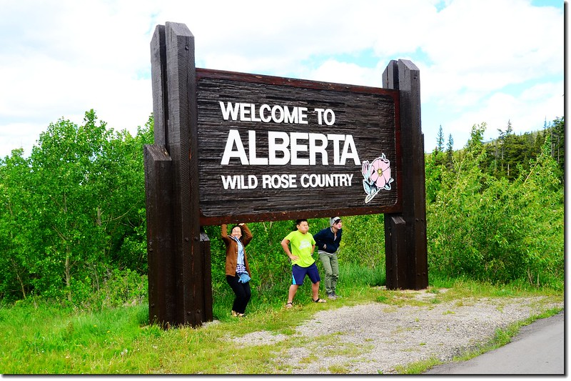 The sign of Alberta