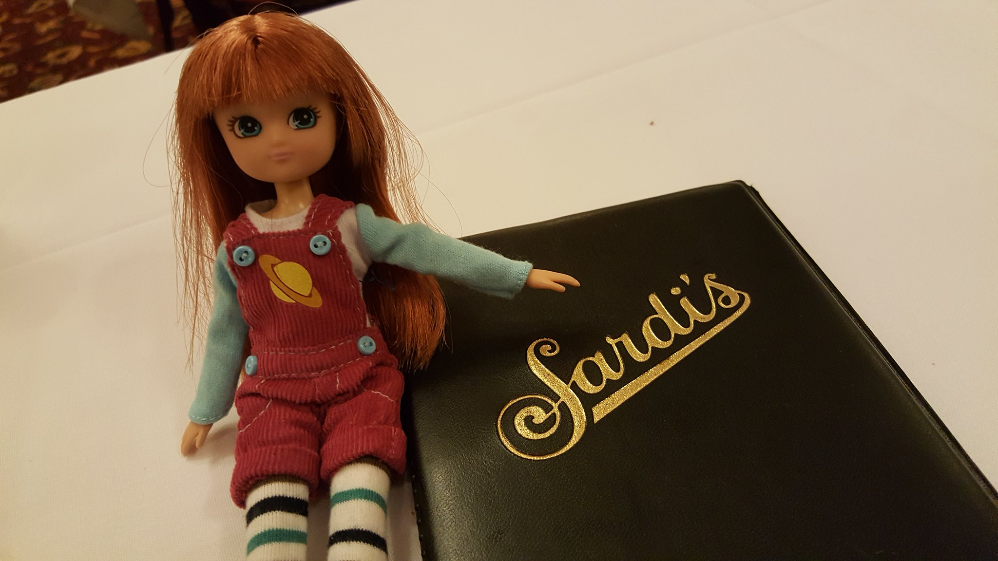 Lottie in Sardi's