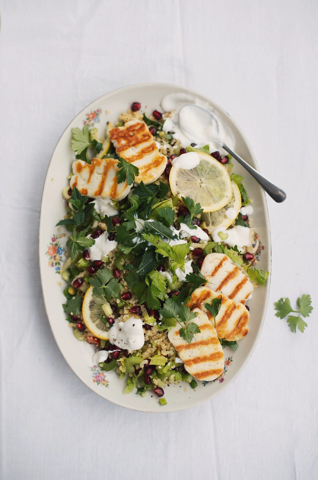 Bulgur Salad with Halloumi, Visual Diary on The Curly Head, a Blog from Munich, Photography by Amelie Niederbuchner