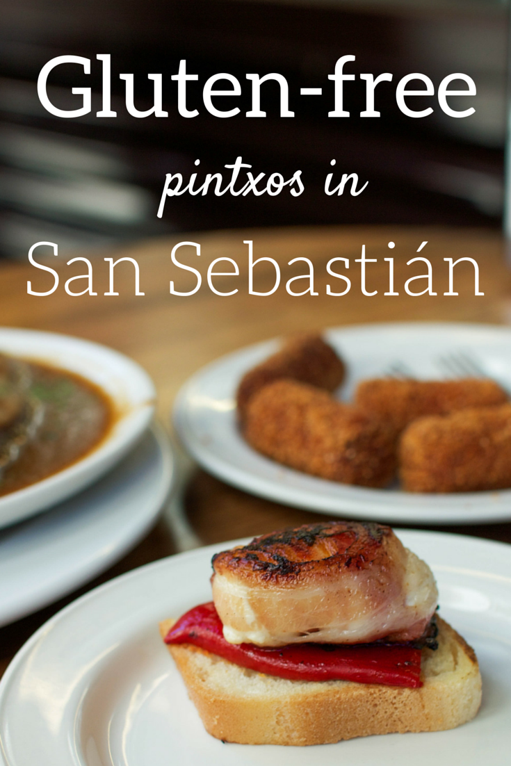 A guide to eating gluten-free pintxos in San Sebastián, Spain