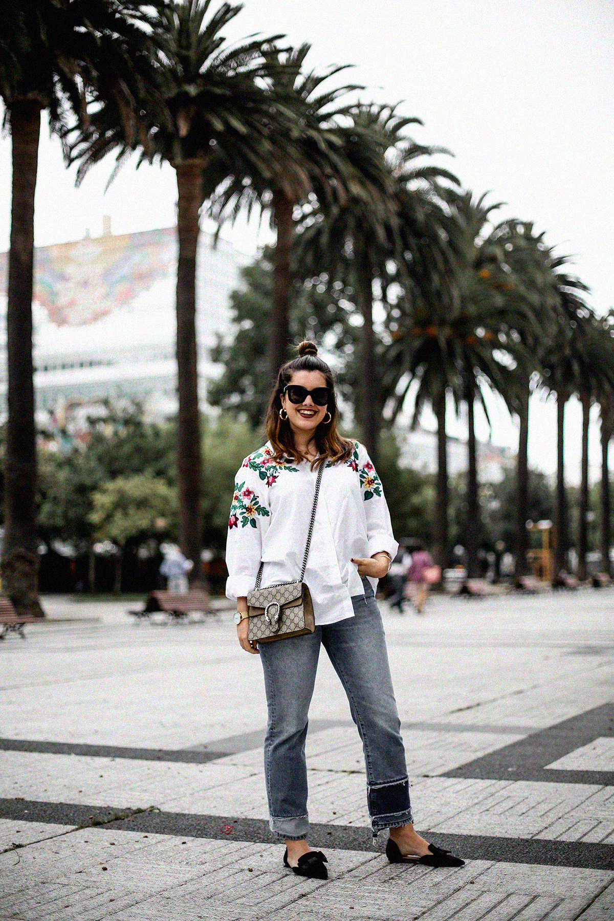 embroidered-white-blouse-bow-flats-hm-gucci-dionysus-streetstyle9