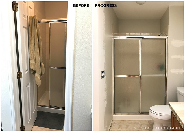 Shower B&A | Welcome to Heardmont
