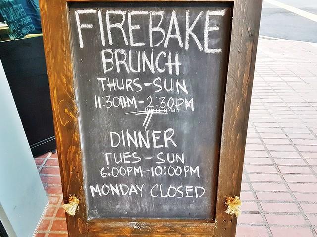 Firebake Signage