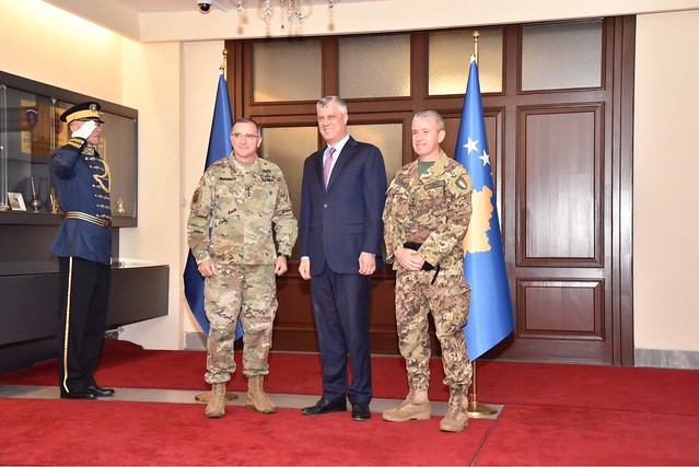 Supreme Allied Commander Europe visited Kosovo