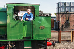 Bo'ness & Kinneil Railway - NCB (060ST) Engine No 9 Engineer