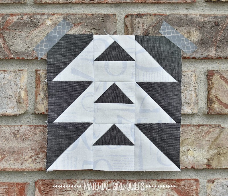 Triangles! #lpq32blocksSAL Love Patchwork & Quilting's 32 Modern Quilt Blocks booklet - included in Issue 50