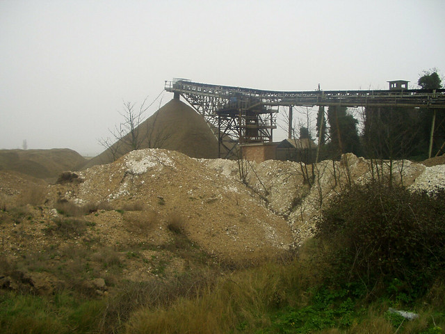 Aggregates at Cliffe Fort