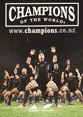 All Blacks Rugby New Zealand postcard