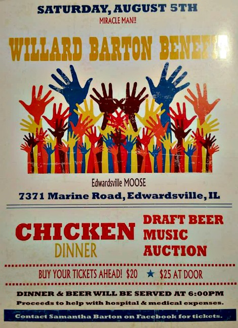 Willard Barton Benefit QDB