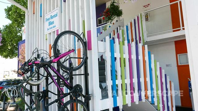 Hotel Zed/Bike rentals