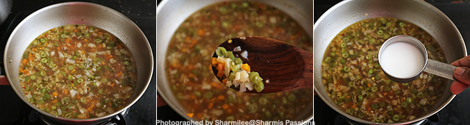 How to make Vegetable manchow soup recipe - Step5