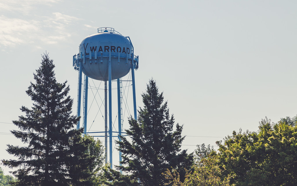 City of Warroad, Minnesota - Water Tower
