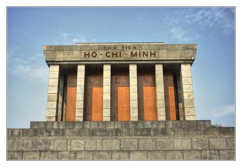 Mausolée d'Ho Chi Minh à Hanoi - Photo de Daniel Mennerich