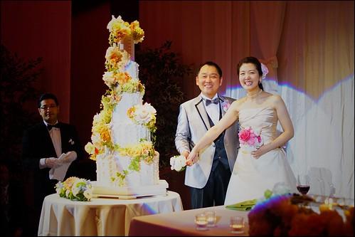 akeba happy wedding reception