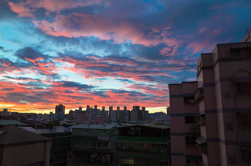 2017.07.22 大暑.火燒雲