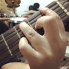 Need more #workout on this #chord type. #osmond #classic #nylon #strings #guitar