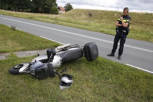 AARTSWOUD - 24 juli Ongeval motor rijder