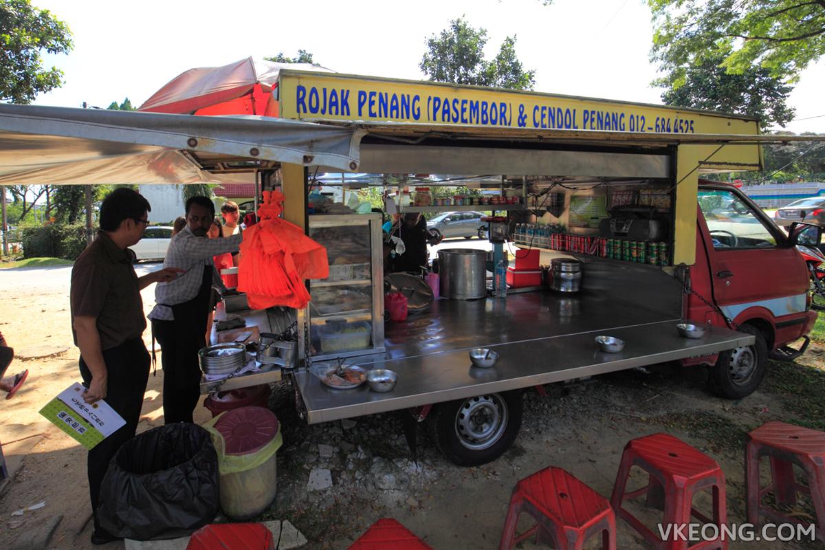 Taman Megah Rojak Cendol Truck
