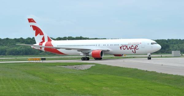 Air Canada Rouge celebra su cuarto aniversario