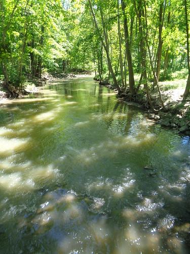 Pike River, Petrifying Springs County Park, Kenosha County, Wisconsin