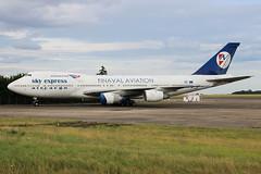 Boeing 747-283B(SF) Sky Express Greece SX-FIN